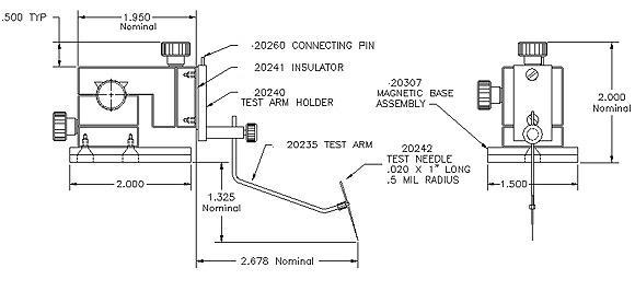 XYZ300寸法図面