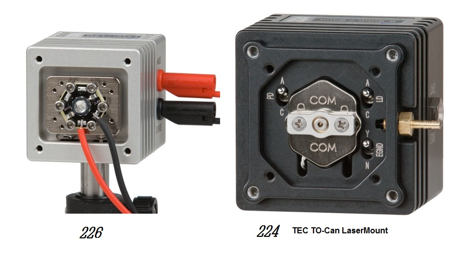 224_226 TO-Can / LED LaserMounts